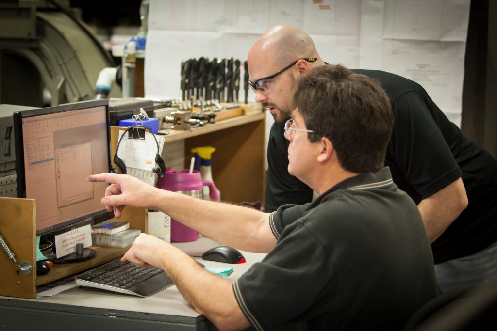 Westminster CNC team identifies challenges.
